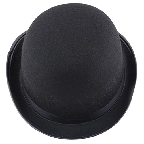 Hoch wertige Kappe,FORH Jungen unisex schwarz Magier Hut Halloween Magie Kappe Elegant Jazz Hut (schwarz)