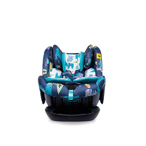 Cosatto CT4262 All in All + Group 0+123 Car Seat Dragon Kingdom (5PP 8.9 kg Cosatto Extended rear facing Suitable for all stages Extra security 2