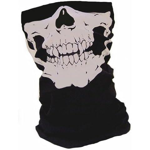 Gear - Pasamontañas polar tipo máscara (material: microfibras y polar, apto para uso en exteriores, en airsoft, paintball, esquí, moto, bicicleta), diseño de Call of Duty Modern Warfare, MW3, Black Ops, COD, Battlefield, Medal of Honor para Xbox 360 y PS3