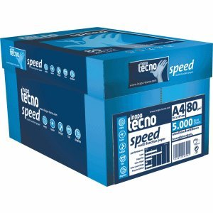 Preisvergleich Produktbild Inapa Tecno Speed/1298110661 DIN A4 weiß geriest 80 g/qm Inh.5000