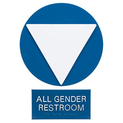 Advantus Gener Neutral Ada Sign business und Store Sign, blau/weiß (97081)