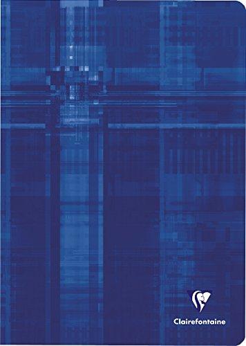 Clairefontaine 3101C - Lote de 10 Cuadernos grapados A4 rayado francés (Séyès) de 48 páginas, colores surtidos