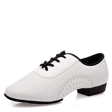 Wuyulunbi @ Donnes Dance Sneakers Split Talon Extérieur À Talons Bas Blanc 1, Blanc, Us7.5 / Eu38 / Uk5.5 / Cn38 Us8.5 / Eu39 / Uk6.5 / Cn40