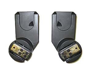 quinny spq6569520 adaptor set for zapp zapp xtra carry cot baby. Black Bedroom Furniture Sets. Home Design Ideas