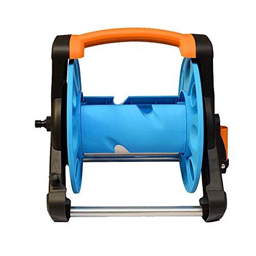 Garten Wasser Schlauch Spule Rack Warenkorb tragbar Wasser Rohr Ablage Halterung für Garten Farm (Schlauch Nicht im Lieferumfang enthalten) (Rohr Warenkorb)
