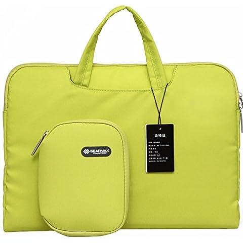 Borsa per notebook 10 pollici GEARMAX 11,6 pollici Fashion Design Lash borsa, il caso della tela di canapa Tablet per il computer portatile (GM3910)