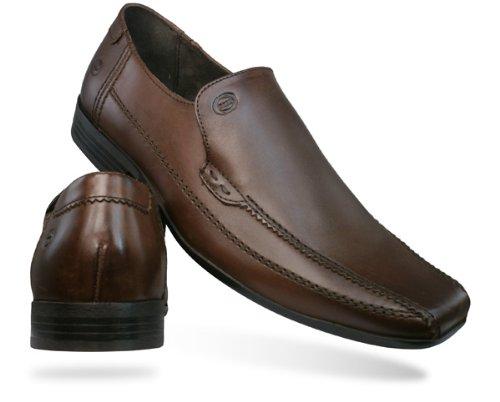 Base London Ange Herren Schuhe Schwarz Brown