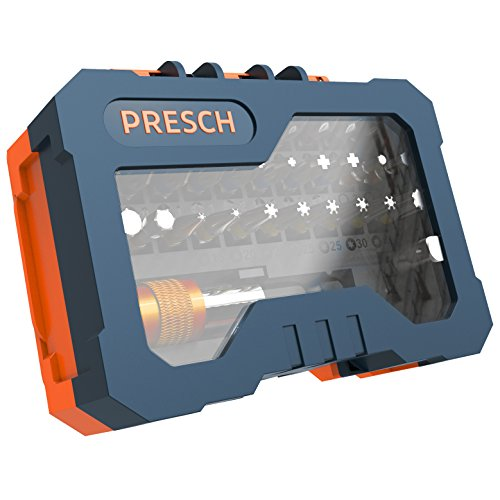Presch Akkuschrauber-Bit-Box-Set | 32 teilig - 4