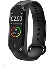 MAGBOT MI-X9 M4 Plus Bluetooth Wireless Smart Fitness Band for Boys/Men/Kids/Women   Sports Watch Compatible with Xiaomi, Oppo, Vivo Mobile Phone   Heart Rate and BP Monitor, Calories Counter