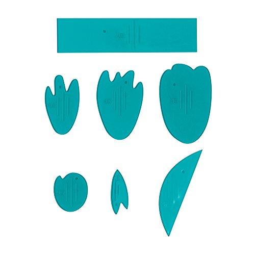 Fiskars Lia Griffith designer Peony Teal Green/White