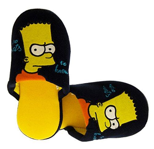 The Simpsons Capolino Ouvrez le Dos Pantoufles Mule Garçons Filles