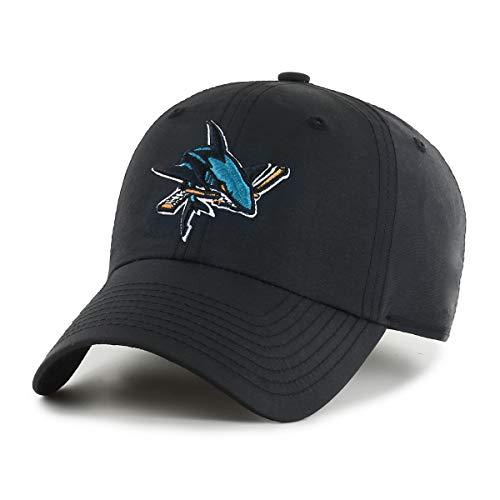 NHL San Jose Sharks Stecker Wind Swept OTS Challenger verstellbar Hat, schwarz, one size
