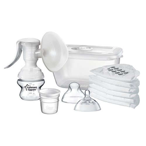 Tommee Tippee Closer to Nature Manual Breast Pump 41dki60kUXL
