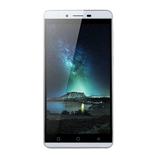 Wifi 3g Smartphone (Smartphone 5.0''Ultrathin Android5.1 Quad-core 512 MB + 4G 3G / GSM WiFi Dual SIM sbloccato SmartPhone (Weiß))