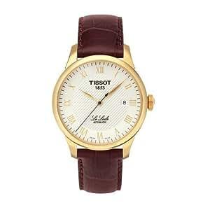 Tissot Men's T-Classic Le Locle Automatic Brown Strap - T41541373