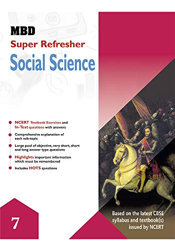 MBD SUPER REFRESHER SCIENCE - VII (CBSE) (E) (English Edition)