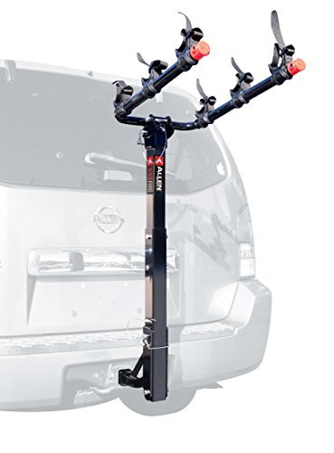 Allen Sports 3-Bike Hitch Mount Rack with 1.25/2-Inch Receiver by Allen Sports - Bike Hitch Rack