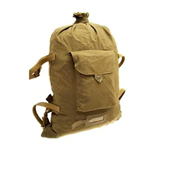 Ganwear® Genuine USSR Soviet Military Russian Army Backpack Bag Outdoor Hiking Travel Canvas Rucksack