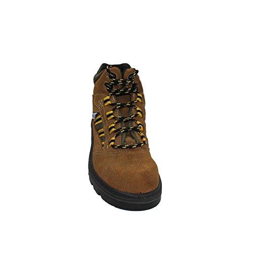 K2 coFan s1P chaussures de travail chaussures berufsschuhe businessschuhe chaussures marron Marron - Marron