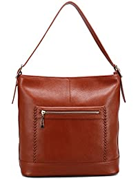 Geya Womens Leather Handbags Cross Body Bags Totes Top Handle Bag Satchel And Purse For Ladies Big Size With Zipper...