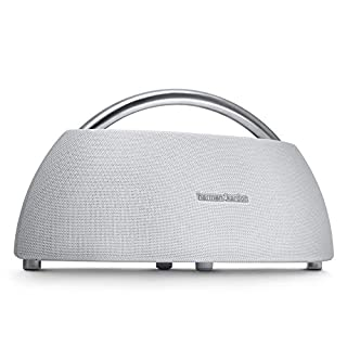 Harman Kardon Go + Play - Altavoz Bluetooth portátil con batería Recargable y micrófono Dual, Color Blanco (B01EN5OSL4) | Amazon Products