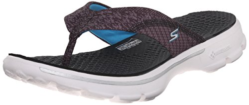 Skechers Gehen Pizazz Womens Sandle Spaziergang UK6 EU39 US9 Black/White