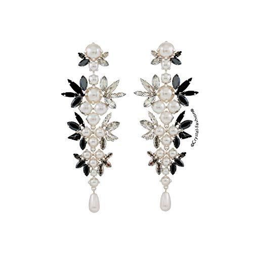 Crystal-Fashion Ohrringe Chanel Cruella, 10,5 cm, mit Kristallen von Swarovski®