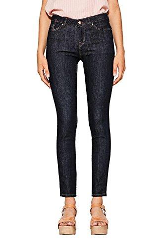 edc by ESPRIT Damen Skinny Jeans 996CC1B910, Blau (Blue Rinse 900), W31/L32