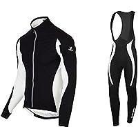 Uglyfrog 2017 Modo Di Sport Esterni Di Panno Morbido Termico Invernale Manica Lunga Ciclismo Magliette + BIB Pantaloni Bicicletta Body Triathlon Abbigliamento TZR10