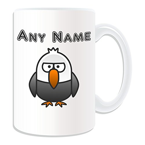 Regalo personalizzato-grande Silly Bald Eagle tazza, motivo: