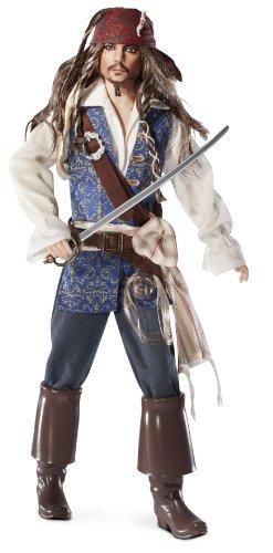 Mattel T7654 - Barbie Collector Fluch der Karibik Johnny Depp/Jack Sparrow, Sammlerpuppe