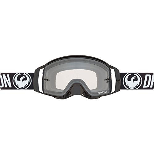 Drachen NFX2 MX Schwarz, Weiß Motocross Goggles