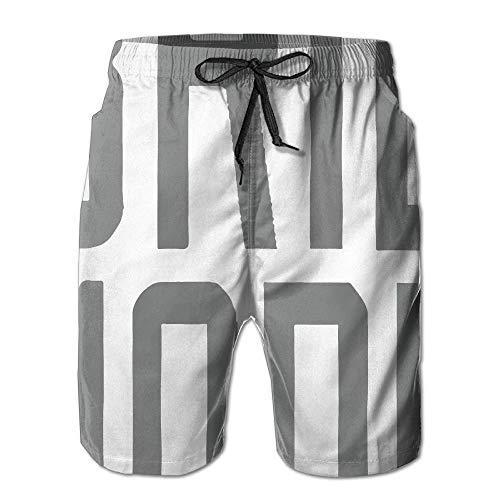 Gap Knit Pants (Men Brie Mode Fashion Beach Pant Tide Stamp Shorts Medium)