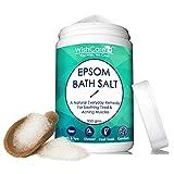 WishCare Natural & Pure Epsom Bath Salt - 950 Grams - No Added
