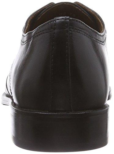 Manz Essex, Derbies à lacets homme Noir - Schwarz (schwarz -001)