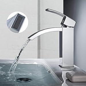 WOOHSE – Grifo monomando para lavabo (latón macizo)