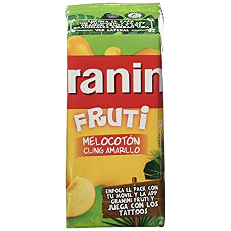 Granini Zumo Melocot n Fruti 3 x 20 cl