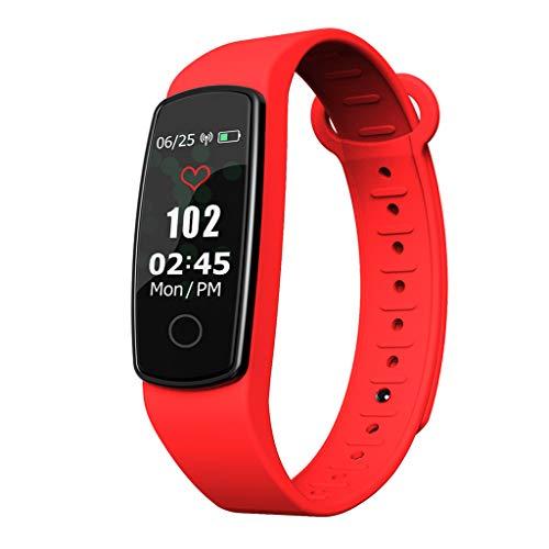 C19Multifunktions-Farbbildschirm Fitness Schrittzählung Timing Herzfrequenz-Tracker Anruf Schlafüberwachung Leben Wasserdicht Touchscreen Smart Bracelet/Für Android iOS-Geräte und Software