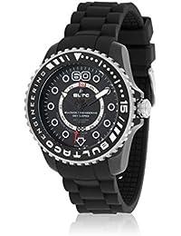 Bultaco BLPB45ACB1 - Reloj de Caballero movimiento automático con correa de caucho Negro