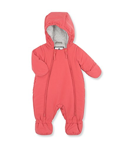 Petit Bateau Unisex Baby Schneeanzug Combinais Pilote, Rosa_2 (COSMETIQUE 61), 3 Monate (Petite Nylon Baumwolle)