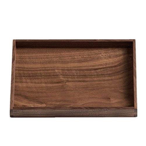 ome Dekoration Accessoires Urlaub Geschenke Service Wohn/Esszimmer - Pure Wood (Capacity : Height 4cm, Größe : 28*19cm) (Personalisierte Geschenke Western)