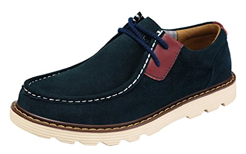 gheaven-mens-comfortble-boat-casual-board-lace-up-flats-size-39-eu-blue