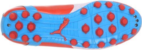 Puma evoSPEED 5 AG 102587 Herren Fußballschuhe Rot (orange.com-white-hawaiian 06)