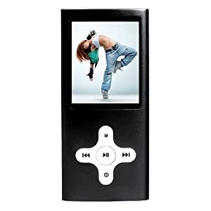 Baladeur MP3/MP4, Audio/Vidéo, 4 GO, avec RADIO et Appareil PHOTO, écran 2,0'. MP211NR-4. CLIPSONIC TECHNOLOGY.