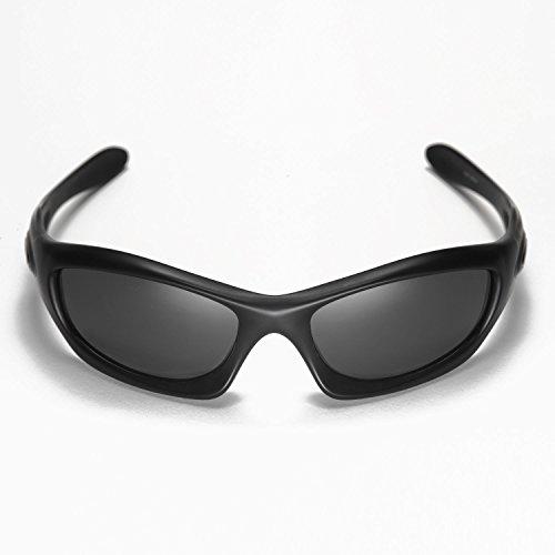 Sunglasses Restorer Sonnenbrille Modell Adeje - für Damen und Herren-Ideal für Sport-Radfahren- Skifahren - Tennis, sureadeje11, Schwarz Iridium