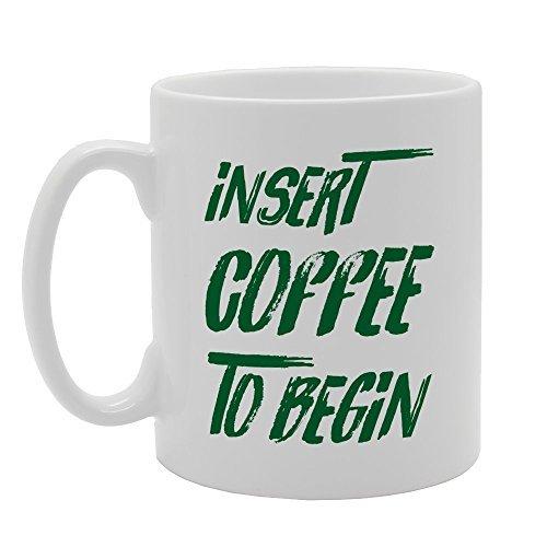 Einsatz Coffee to Begin Best Funny Geschenke Sarkastisch Tasse Geschenk 313ml Tochter Kaffee Tasse für Mom und Dad Funny Kaffee Tassen, Keramik Geschenk Kaffee Tee Kakao Kaffee Tasse (Kakao Freunden)