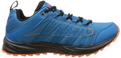Hi-Tec - Sensor Trail Lite, Scarpe da corsa Uomo Bleu (Blue/Black/Tangelo)