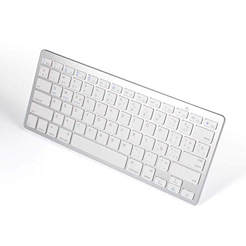 Teclado Bluetooth Español MAC OS Android Windows