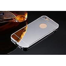 Funda iPhone 6/6s,Dosige iPhone 6/6s Carcasa con,Espejo Fundas Para iPhone 6/6s Silvery