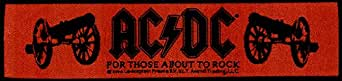 AC/DC - For Those About To Rock (gewebter Superstrip Aufnäher)